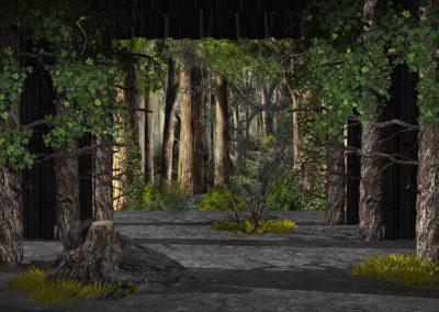 Wald belebt Kopie